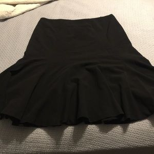 Dalia Collection black flare skirt